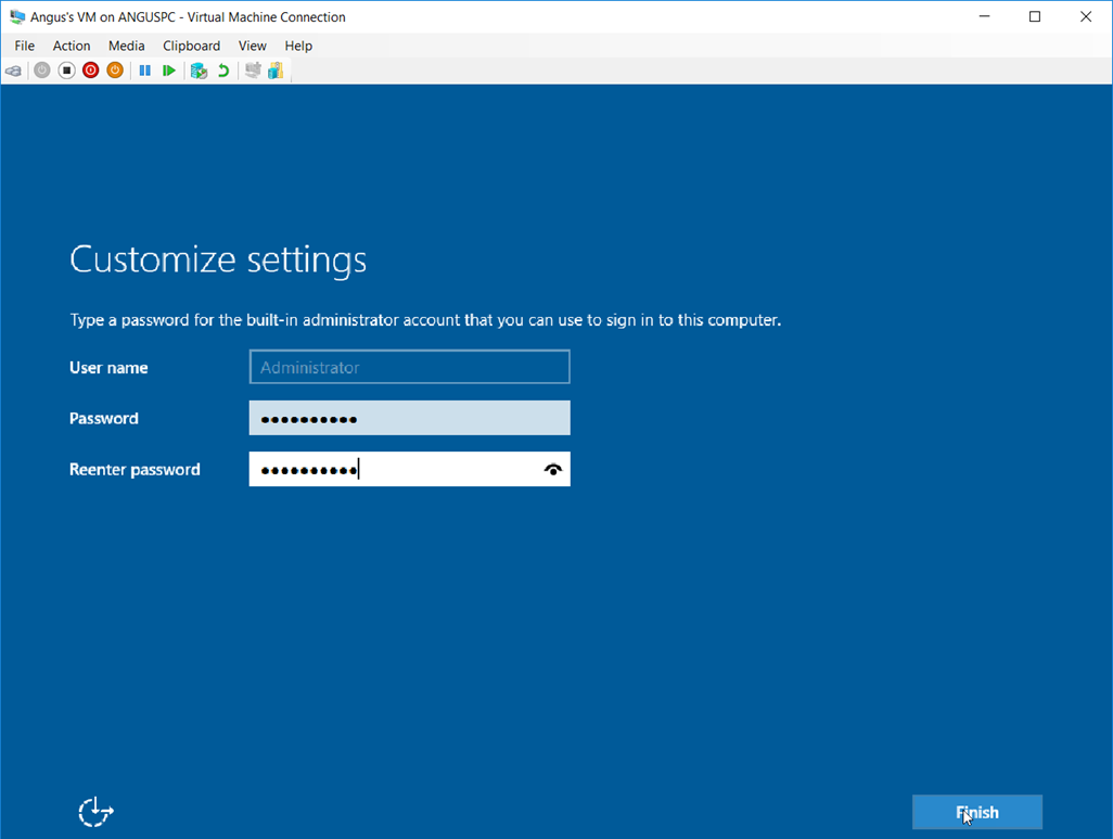 041118 0000 HyperVSetti19 - Hyper-V Setting Up the Virtual Machine and Also other stuff Pt.2 #VirtualMachines #Microsoft