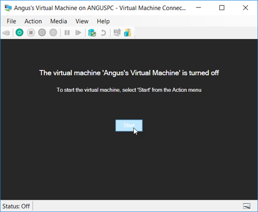 041118 0000 HyperVSetti2 - Hyper-V Setting Up the Virtual Machine and Also other stuff Pt.2 #VirtualMachines #Microsoft