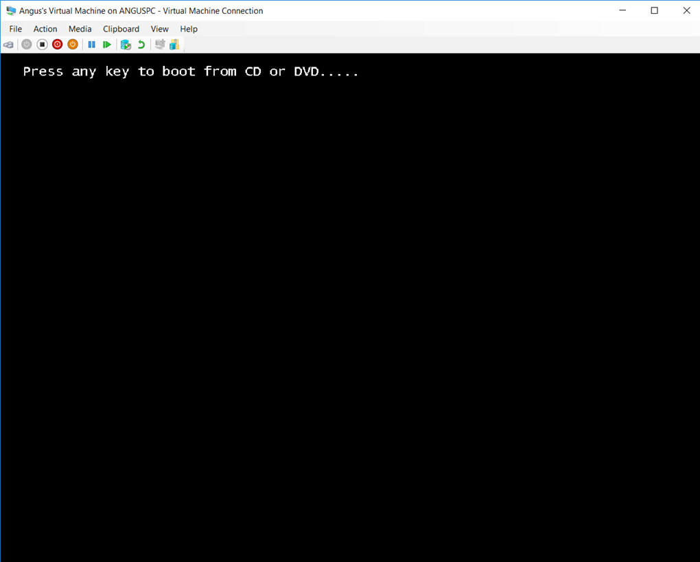 041118 0000 HyperVSetti3 - Hyper-V Setting Up the Virtual Machine and Also other stuff Pt.2 #VirtualMachines #Microsoft