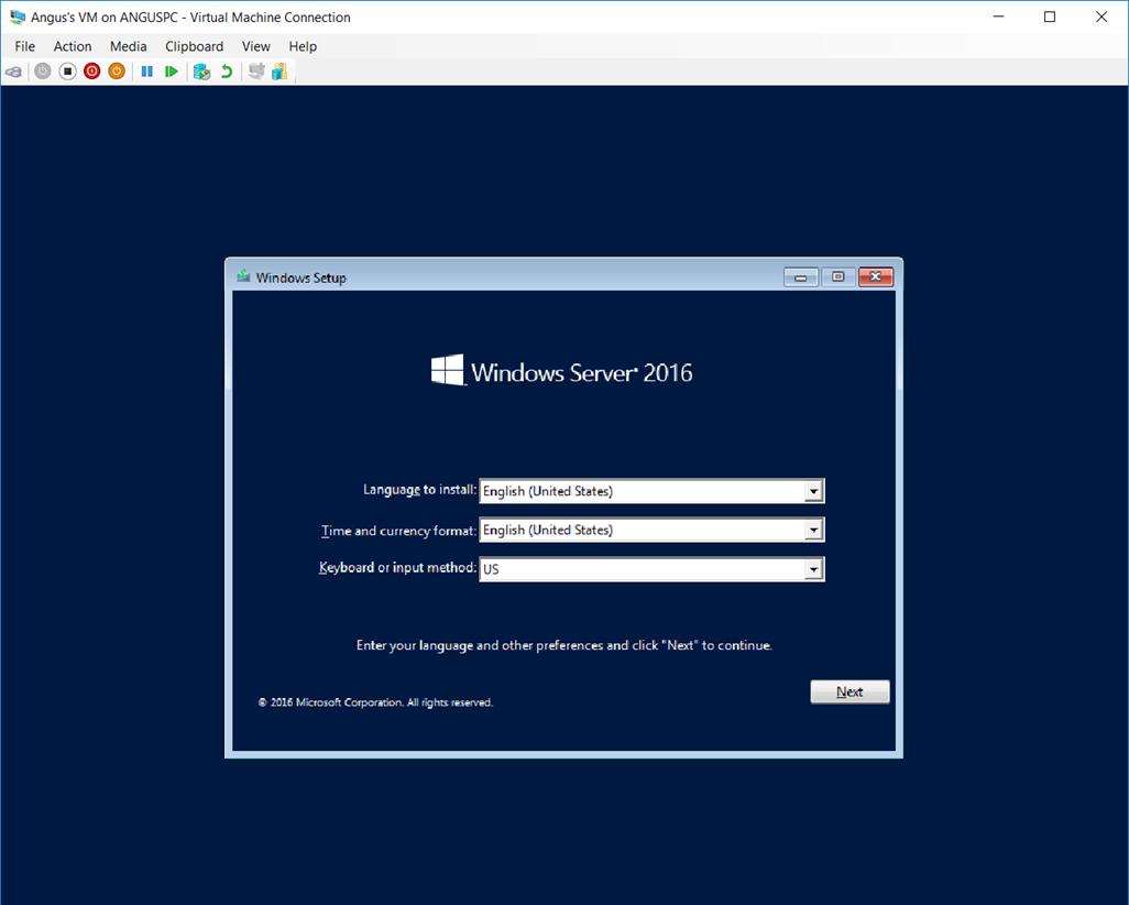 041118 0000 HyperVSetti5 - Hyper-V Setting Up the Virtual Machine and Also other stuff Pt.2 #VirtualMachines #Microsoft