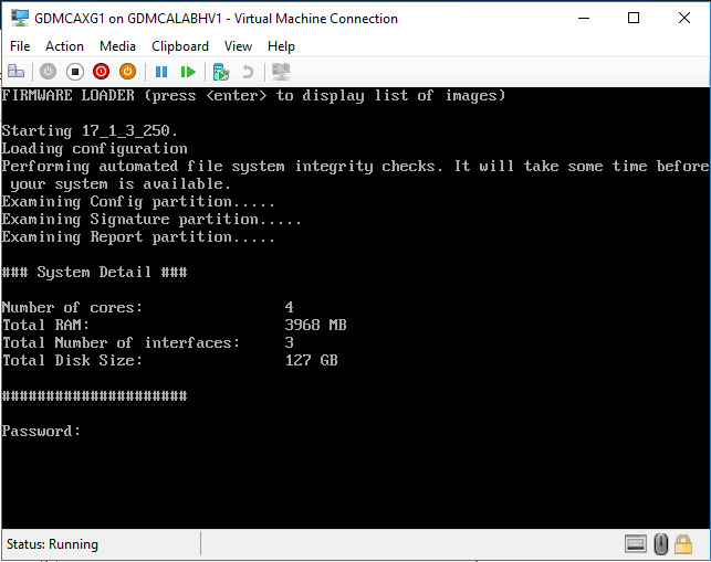 How to build Sophos XG firewall at Azure Hyper-V Nested VM