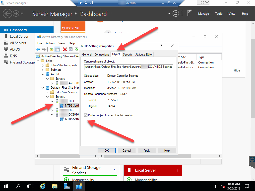 Step by Step to Fix Access Denied Error in Demote DC server #Active