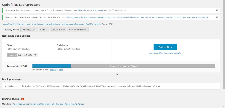 060219 0101 HowtoBackup5 - How to Backup Your WordPress Website For Free! #WordPress #Backup #Website #Free