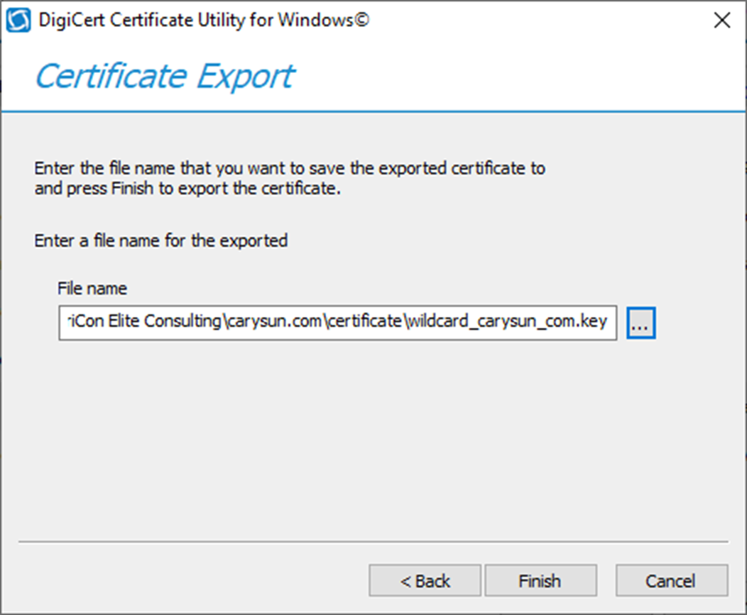 071819 1900 HowtoConver7 - How to Convert Windows SSL certificate PFX Format to PEM Format #WINDOWSSERVER #MVPHOUR @Digicert