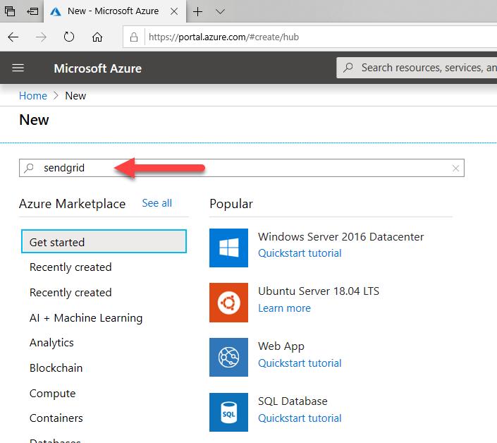 011320 1948 Howtocreate2 - How to create a Free SendGrid Account at Azure #Azure #SendGrid #Email #Exchange #SMTP Relay