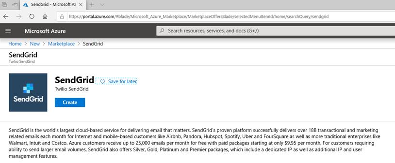011320 1948 Howtocreate4 - How to create a Free SendGrid Account at Azure #Azure #SendGrid #Email #Exchange #SMTP Relay