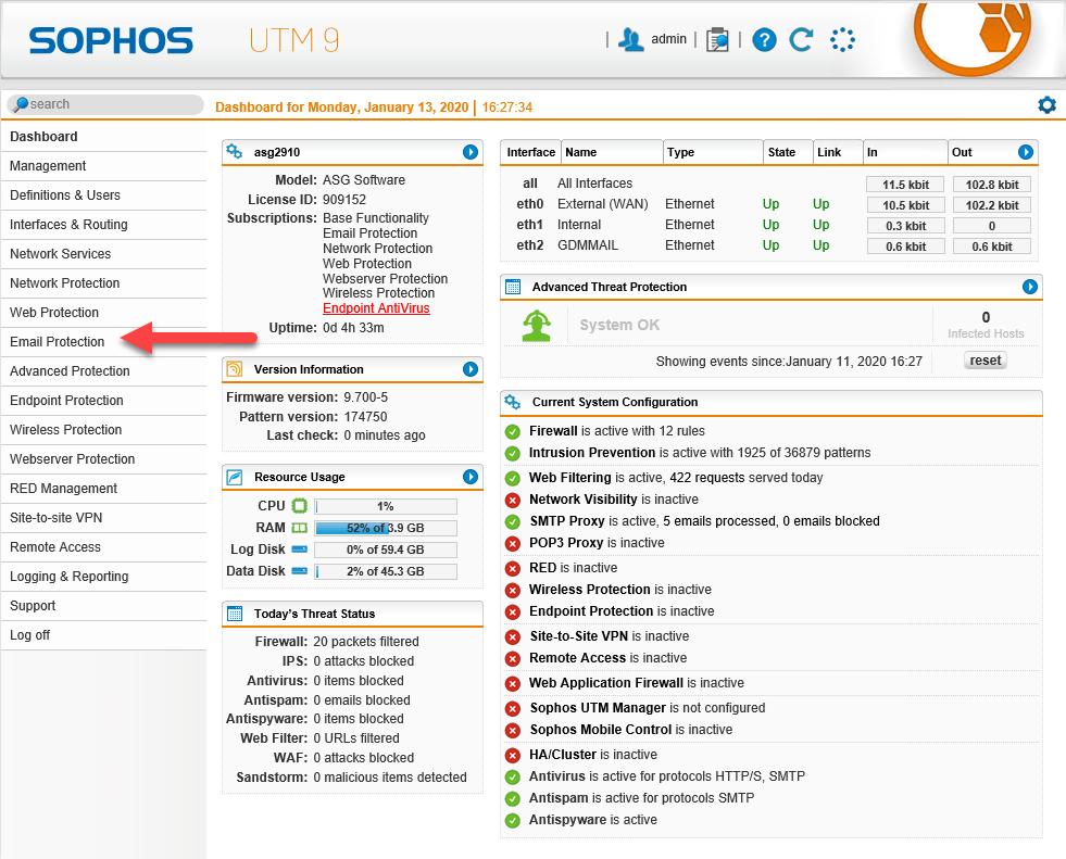 011420 0051 HowtouseSen16 - How to use SendGrid as SMTP Relay at Sophos UTM firewall #Azure #SendGrid #Email #Exchange #SMTP Relay #Sophos