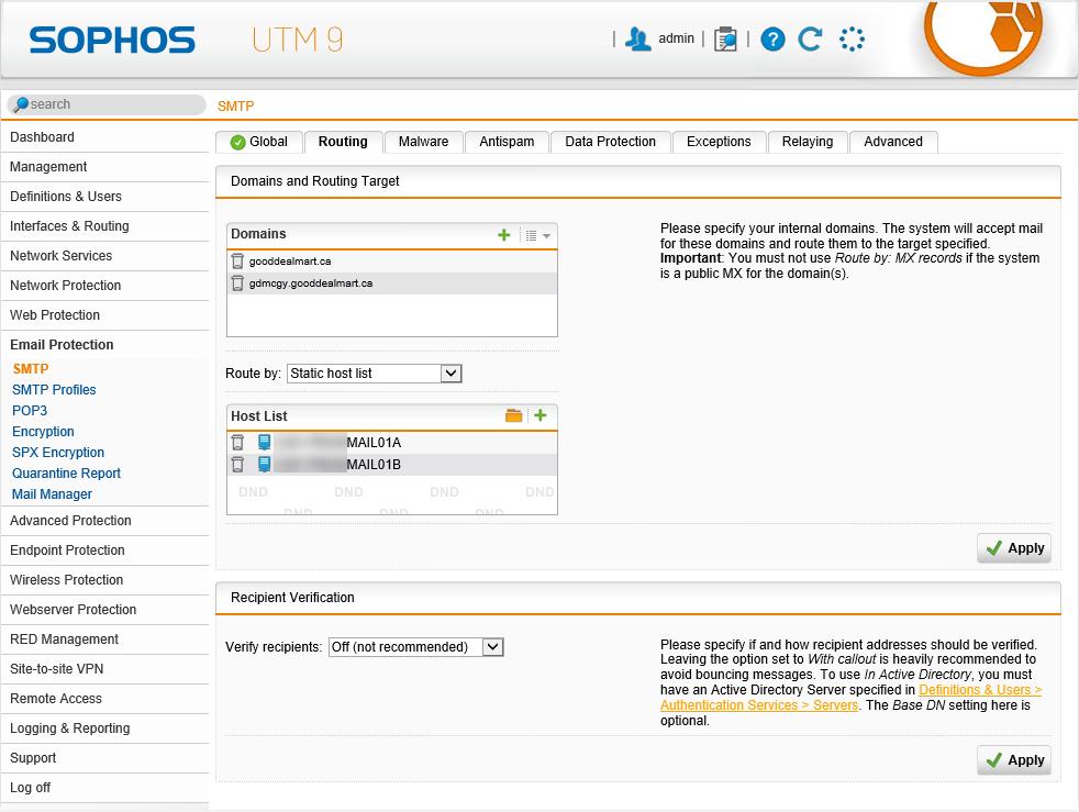 011420 0051 HowtouseSen19 - How to use SendGrid as SMTP Relay at Sophos UTM firewall #Azure #SendGrid #Email #Exchange #SMTP Relay #Sophos
