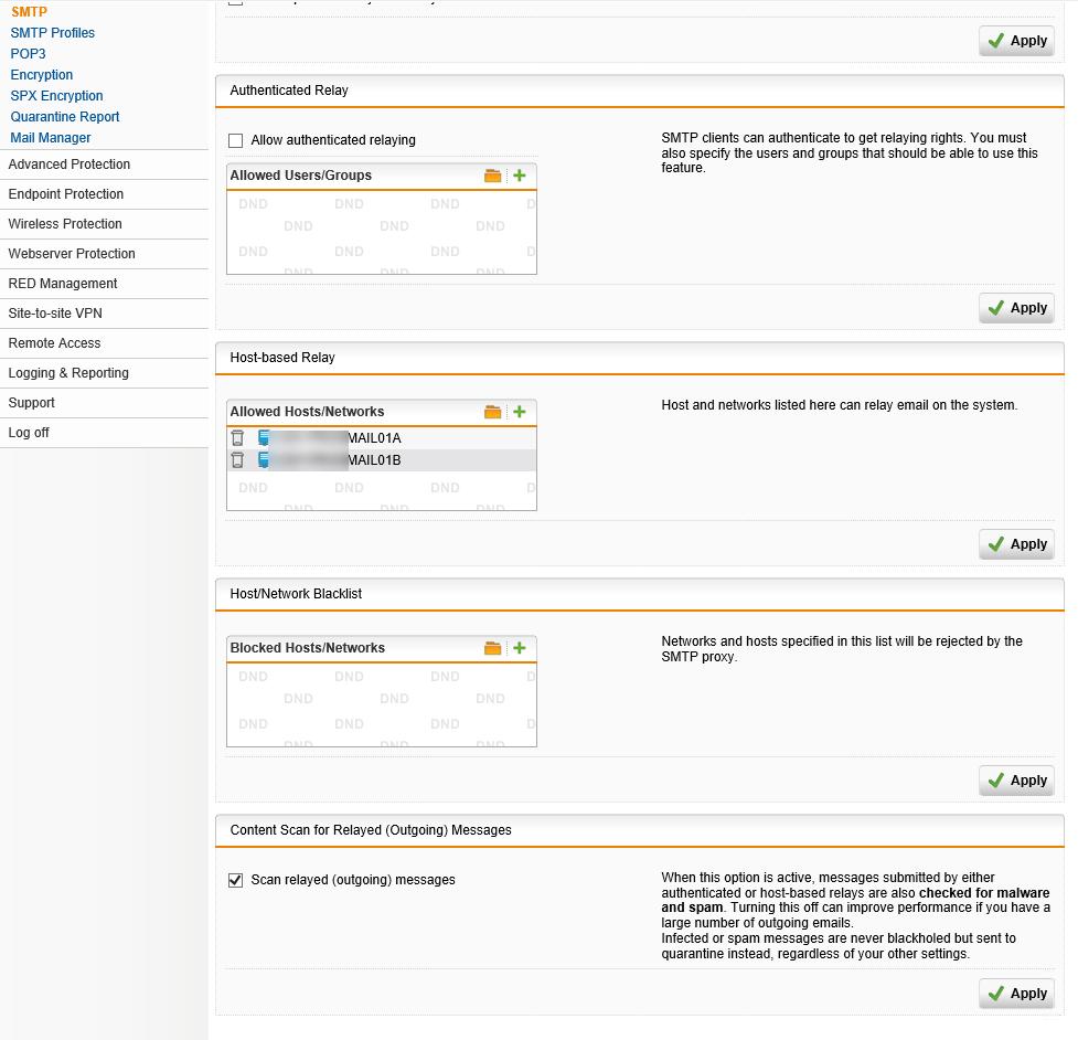 011420 0051 HowtouseSen21 - How to use SendGrid as SMTP Relay at Sophos UTM firewall #Azure #SendGrid #Email #Exchange #SMTP Relay #Sophos