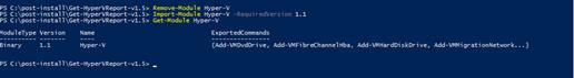 012120 1907 Troubleshoo3 - Troubleshooting Tips – Fixed Windows Server 2019 cannot run Hyper-V cmdlets against Windows Server 2012 R2 #PowerShell #Hyper-V #Server 2019 #Reports #Mvphour