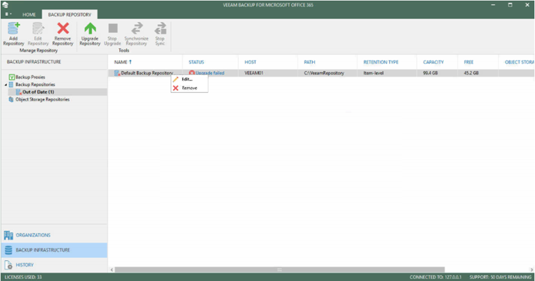 012320 1948 FIXEDAccess15 - FIXED Access is Denied Error for upgrading VBO 365 Default Backup Repository to V4 #Veeam #VBO 365 #Office 365 #Backup #Mvphour