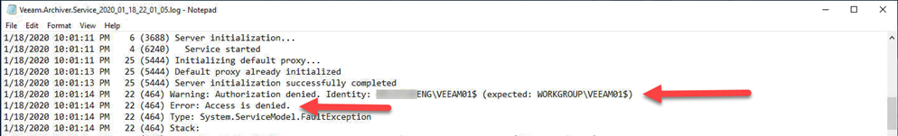 012320 1948 FIXEDAccess2 - FIXED Access is Denied Error for upgrading VBO 365 Default Backup Repository to V4 #Veeam #VBO 365 #Office 365 #Backup #Mvphour