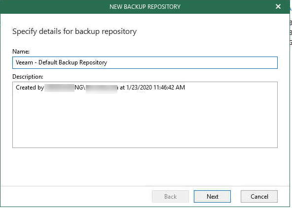 012320 1948 FIXEDAccess8 - FIXED Access is Denied Error for upgrading VBO 365 Default Backup Repository to V4 #Veeam #VBO 365 #Office 365 #Backup #Mvphour