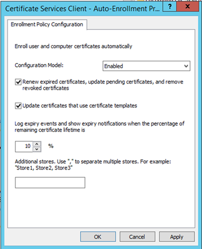 012720 1833 HowtoConfig10 - How to Configure Server Certificate Auto-enrollment #Group Policy #GPO #Certificate #Server #Auto-Enrollment #Mvphour