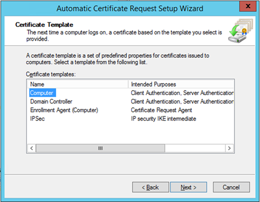 012720 1833 HowtoConfig13 - How to Configure Server Certificate Auto-enrollment #Group Policy #GPO #Certificate #Server #Auto-Enrollment #Mvphour