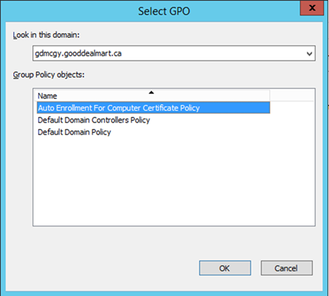 012720 1833 HowtoConfig17 - How to Configure Server Certificate Auto-enrollment #Group Policy #GPO #Certificate #Server #Auto-Enrollment #Mvphour