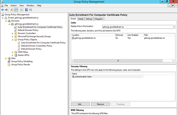 012720 1833 HowtoConfig18 - How to Configure Server Certificate Auto-enrollment #Group Policy #GPO #Certificate #Server #Auto-Enrollment #Mvphour