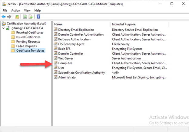 012720 1833 HowtoConfig2 - How to Configure Server Certificate Auto-enrollment #Group Policy #GPO #Certificate #Server #Auto-Enrollment #Mvphour