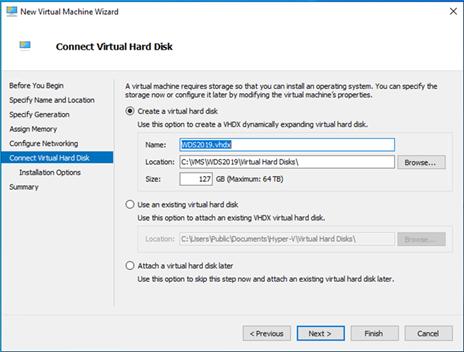 020620 1820 HowtoCreate16 - How to Create a Windows Server 2019 Virtual Machine at Windows 10 1909#Hyper-V #Server 2019 #Windows 10 1909 #Mvphour