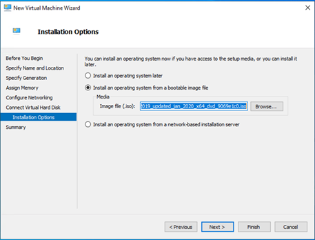 020620 1820 HowtoCreate19 - How to Create a Windows Server 2019 Virtual Machine at Windows 10 1909#Hyper-V #Server 2019 #Windows 10 1909 #Mvphour