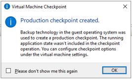 020620 2133 FixedVeeamB8 - Fixed Veeam Backup Error failed to create Production Checkpoint #Veeam #Veeam Backup and Replication #Production Checkpoint #Hyper-V #mvphour