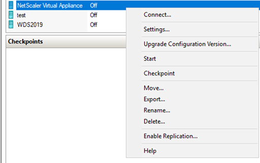 022720 0133 HowtoInstal21 - How to Install Citrix ADC (NetScaler ADC) VPX 13.0 at Microsoft Windows Server 2019 with Hyper-V #Citrix #NetScaler #ADC #VPX #Microsoft #Hyper-V #Windows Server 2019 #mvphour