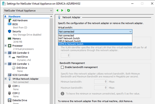 022720 0133 HowtoInstal22 - How to Install Citrix ADC (NetScaler ADC) VPX 13.0 at Microsoft Windows Server 2019 with Hyper-V #Citrix #NetScaler #ADC #VPX #Microsoft #Hyper-V #Windows Server 2019 #mvphour