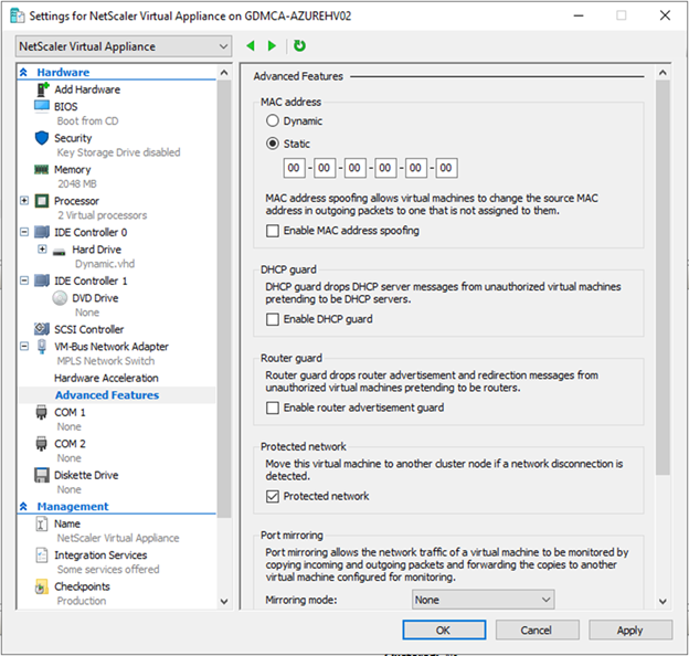 022720 0133 HowtoInstal24 - How to Install Citrix ADC (NetScaler ADC) VPX 13.0 at Microsoft Windows Server 2019 with Hyper-V #Citrix #NetScaler #ADC #VPX #Microsoft #Hyper-V #Windows Server 2019 #mvphour