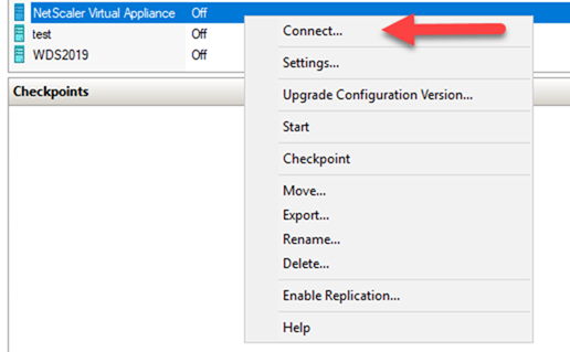 022720 0133 HowtoInstal25 - How to Install Citrix ADC (NetScaler ADC) VPX 13.0 at Microsoft Windows Server 2019 with Hyper-V #Citrix #NetScaler #ADC #VPX #Microsoft #Hyper-V #Windows Server 2019 #mvphour