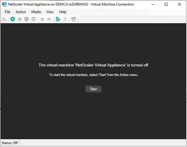 022720 0133 HowtoInstal26 - How to Install Citrix ADC (NetScaler ADC) VPX 13.0 at Microsoft Windows Server 2019 with Hyper-V #Citrix #NetScaler #ADC #VPX #Microsoft #Hyper-V #Windows Server 2019 #mvphour