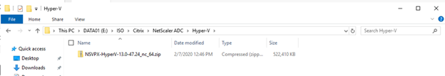 022720 0133 HowtoInstal8 - How to Install Citrix ADC (NetScaler ADC) VPX 13.0 at Microsoft Windows Server 2019 with Hyper-V #Citrix #NetScaler #ADC #VPX #Microsoft #Hyper-V #Windows Server 2019 #mvphour