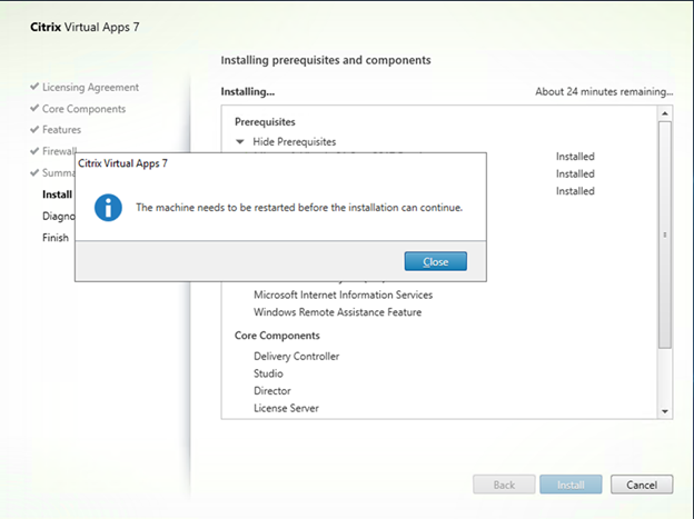 022820 0146 HowtoInstal18 - How to Install Citrix Virtual Apps 7 1909 at Microsoft Windows Server 2019 #Citrix #Virtual Apps #Windows Server 2019 #Microsoft