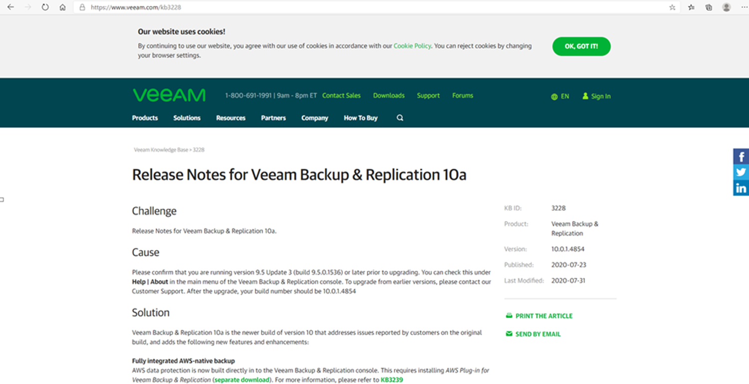 100320 1854 HowtoInstal1 - How to Install (Upgrade) Veeam Backup and Replication V10a #Veeam #VBR 10a #Hyper-V #WINDOWSERVER #Azure #AWS #NAS #VMWARE #vCloud #Azure Stack #Linux