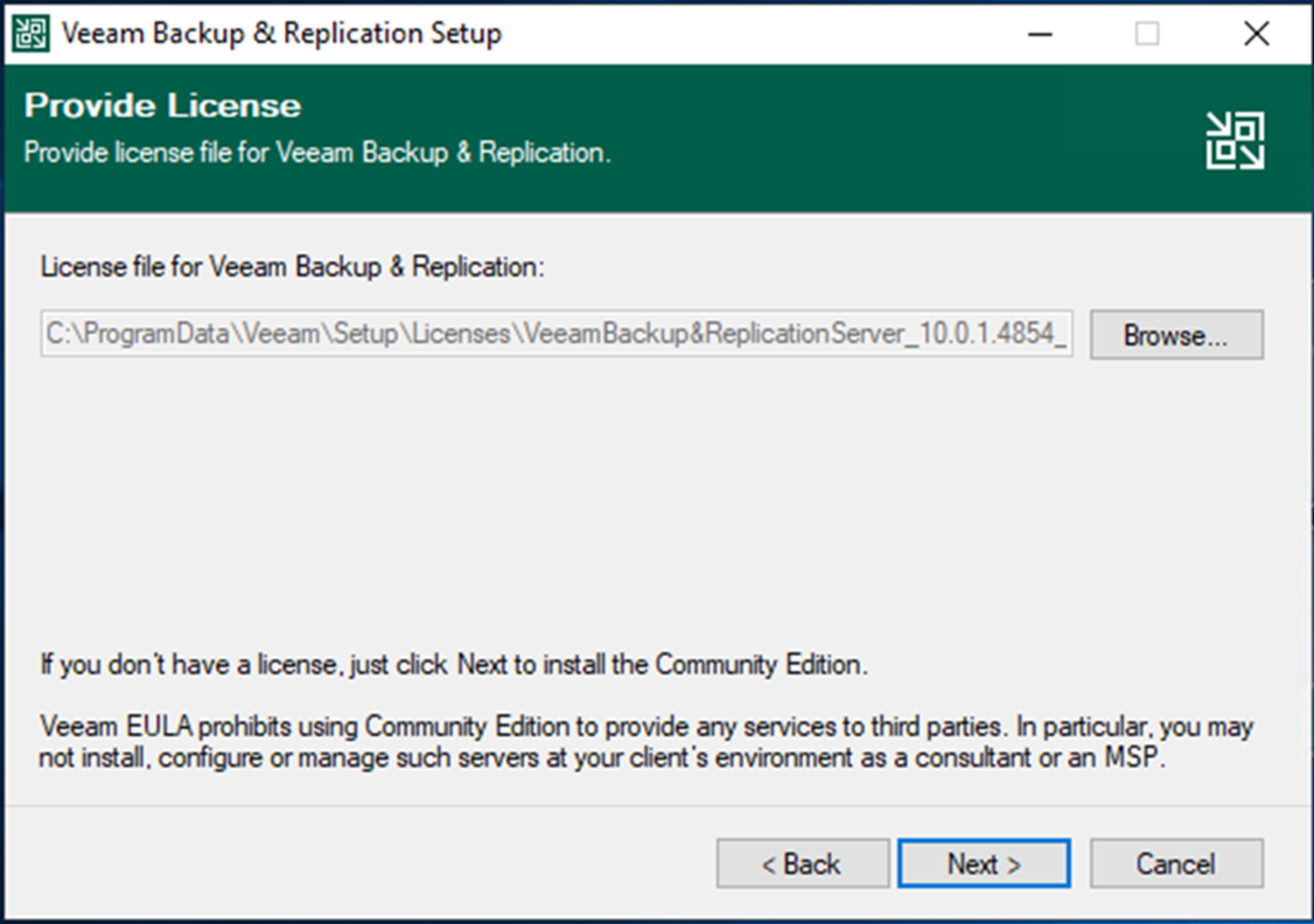 100320 1854 HowtoInstal10 - How to Install (Upgrade) Veeam Backup and Replication V10a #Veeam #VBR 10a #Hyper-V #WINDOWSERVER #Azure #AWS #NAS #VMWARE #vCloud #Azure Stack #Linux