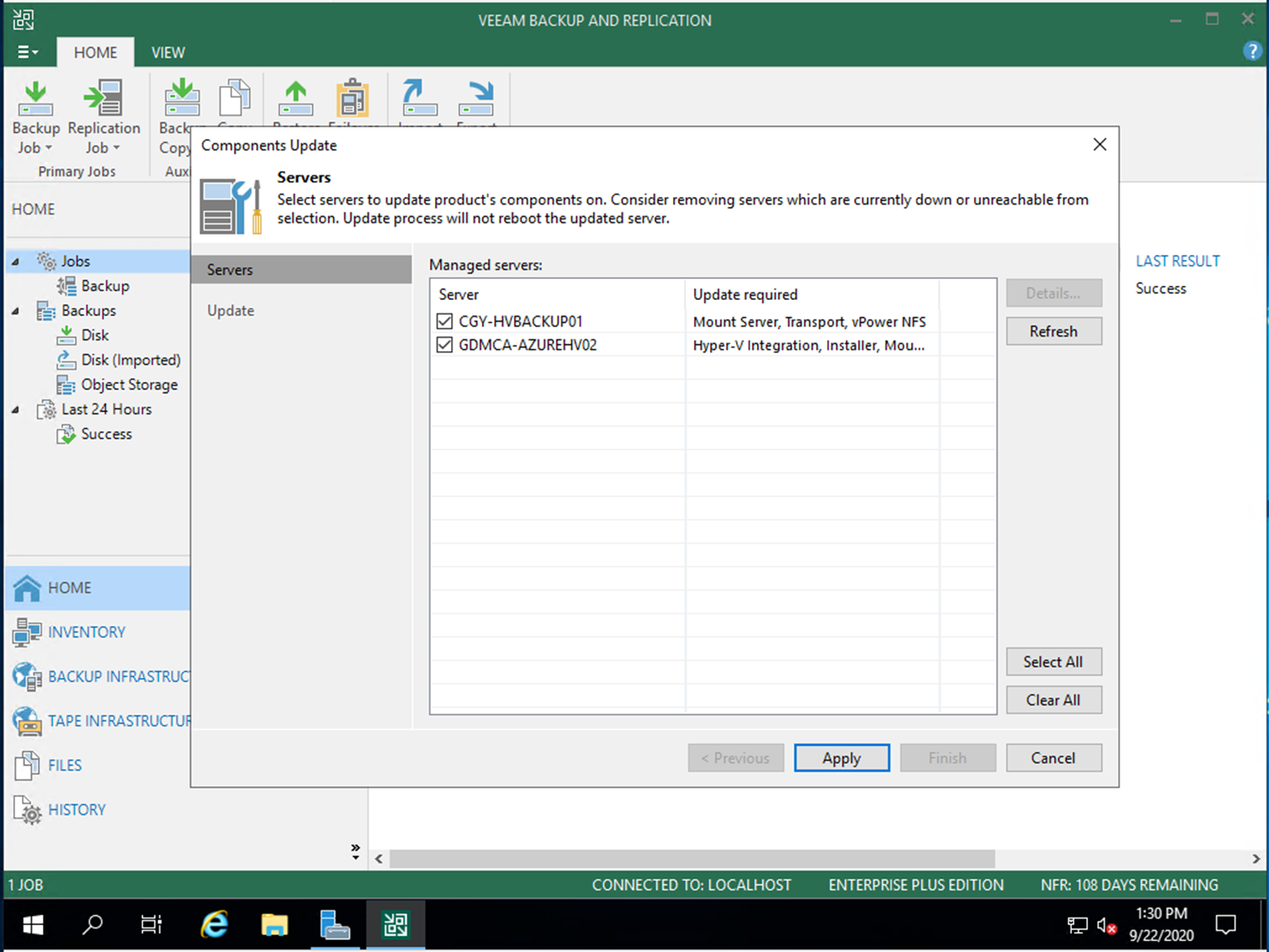 100320 1854 HowtoInstal20 - How to Install (Upgrade) Veeam Backup and Replication V10a #Veeam #VBR 10a #Hyper-V #WINDOWSERVER #Azure #AWS #NAS #VMWARE #vCloud #Azure Stack #Linux